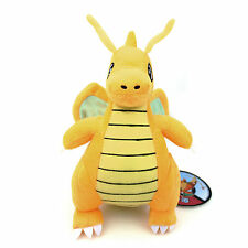 Pocket Monster Dragonite Pokemon Rare Soft Plush Toy Doll Gift 23CM