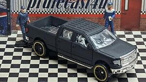 """HOT WHEELS 2009 FORD F-150 LOOSE 1:64 CUSTOM """"MATTE BLACK SATIN"""" COLLECTION"""