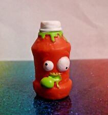 The Grossery Gang Series 1 #056 TERRIBLE TOMATO SAUCE Red Mini Figure Mint OOP