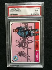 1968-69 Topps Hockey Cards #106, Ken Schinkel,  PSA 7, Really Sharp Card!!!