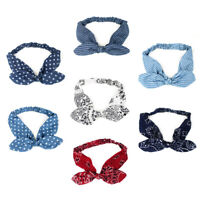 Women Twist Knot Pattern Headband Elastic Head Wrap Turban Hair Band Accessories