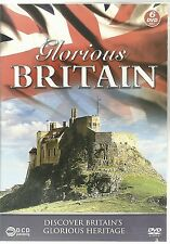 GLORIOUS BRITAIN - 6 DVD BOX SET - DISCOVER BRITAIN'S GLORIOUS HERITAGE
