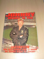 JOHNNY HALLYDAY Johnny allume le feu magazine + posters 1998