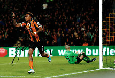 Abel HERNANDEZ Signed Autograph 12x8 Football Hull City Photo B AFTAL COA