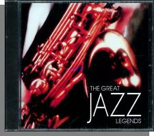 The Great Jazz Legends #3 - New Various Artists CD! Big Name Stars!