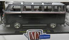 WALMART 1/25 1959 VW V W BUS BUG MICROBUS DELUXE USA MODEL BLACK S06 15-04 M2