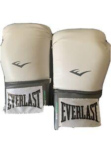everlast boxing gloves 12oz White pro style training