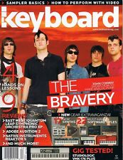2006 THE BRAVERY Bias Peak Pro Studiologic VMK-176 Plus Keyboard Tested Magazine