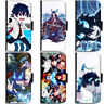 PIN-1 Anime Blue Exorcist Phone Wallet Flip Case Cover for HTC Nokia Oppo Xiaomi