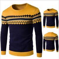 Classic Men's Slim Fit Sweatshirt Sweater Coat Jacket Outwear