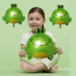 Cartoon Frog Shape Aluminum Foil Balloon Children Birthday Party Decoration HOT