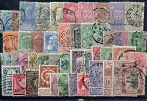 Old stamps of BELGIUM  used collection