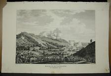Carle Vernet Bataille de Castiglione gravure c1815 Napoléon Bonaparte histoire