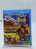 MARVEL ANIMATED SERIES THOR IRON-MAN NEXT AVENGERS COMBO BLU-RAY ONLY