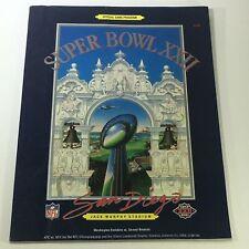 VTG NFL Official Super Bowl XXII Game Program 1988 Washington Redskins vs Denver