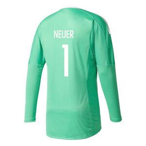 Adidas Manuel Neuer Torwart Trikot 2017 2018 1 Herren grün weiß
