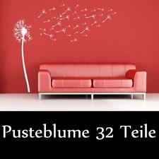 Wand aufkleber Pusteblume zum selbst gestalten 32 Teile