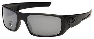 Oakley Crankshaft Sunglasses OO9239-06 Matte Black |Black Iridium Polarized Lens