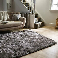 Luxurious Serenity Super Soft Shine Densely Woven High Pile Lounge Shaggy Rugs