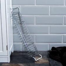 Bath Tub Rack Adjustable Chrome Shower Shelf Bathroom Organiser Storage Caddy