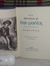 The Adventures of Tom Sawyer by Mark Twain 1983, Hardcover The Franklin Library