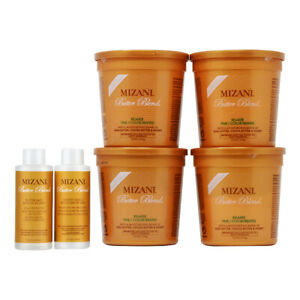 Mizani Butter Blend Fine Color Treated Relaxer Kit w/Free Nail File
