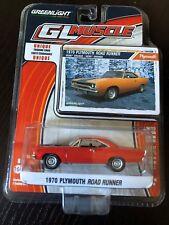 GREENLIGHT 1970 PLYMOUTH ROAD RUNNER HEMI ORANGE 1/64 DIECAST CAR