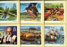 Guernsey 1982 La Societe Gurnesiaise PHQ Postcard Unused Set #C38721