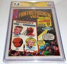 Fantastic Four #7 CGC SS Signature Autograph STAN LEE German Edition Variant