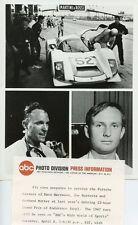 DAN GURNEY CHRIS AMON PORSCHE PIT CREW GRAND PRIX OF ENDURANCE 1967 ABC TV PHOTO