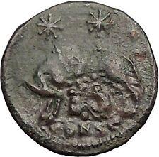 CONSTANTINE I Romulus Remus Wolf Rome Commemorative Ancient Roman Coin i57422