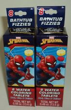 16 Marvel Spiderman Bathtub Fizzies Can Be Combined To Make Secondary Colors