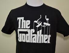 The Godfather t-shirt black large classic film Al Pacino Marlon Brando