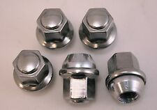 5 New Chrysler 300 Factory OEM Stainless Polished Chrome Lug Nuts Lugs Free Ship