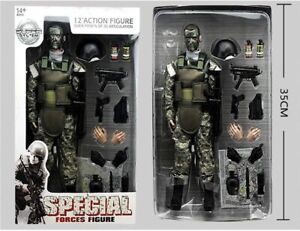 """1/6 12"""" American Soldier Special Forces Action Figure Model ACU Military Army US"""