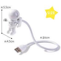 Chic Amazing Space Astronaut USB Night Lamp Creative LED Switch Nightlight USB