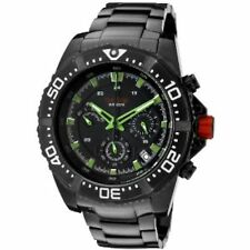 NEW Red line RL-500030VK-BB-01GN Mens Watch Green Date Chronograph Steel Watch