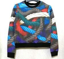 Rope Print Sweater