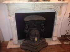 Kaminmaske Ofen Kamin Kamineinfassung  chimney face Heizung Marmorkamin Louis XV