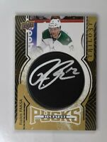 2018-19 UD Upper Deck Trilogy 2017-18 Update Pucks Auto #SP-RF Radek Faksa