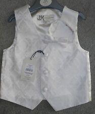 BNWT - BHS Cream Bow Tie & matching Waistcoat set - 18-24 Months free UK P&P