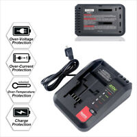 Li-Ion Battery Charger For Porter Cable Black+Decker 20V MAX Battery Pcc692L