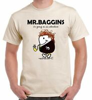 Mr Baggins Lord Of The Rings Inspired T Shirt Top Tee S-XXL 3 Colours