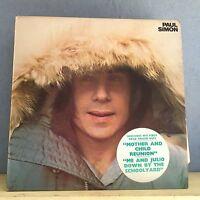 PAUL SIMON Paul Simon 1972 UK vinyl LP  EXCELLENT CONDITION Same self titled C