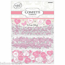 Pink Butterflies Wedding Engagement Party Confetti Table Sprinkles Triple Pack