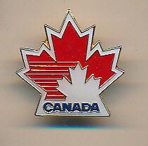 TEAM CANADA 1988 LOGO PIN