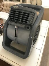 Lasko Misto Outdoor Misting 3-Speed Fan, Oscillating #7050 Grey NWOT
