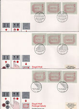 1984 Frama Labels - All Five Locations + the August Set