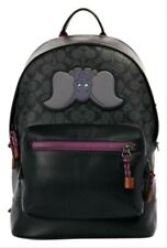 Coach Disney X West Backpack Signature Canvas With Dumbo 89943 MSRP $650 NWT