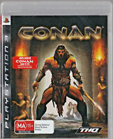 LIKE NEW Conan  WITH MANUAL PS3 Playstation 3 Game
